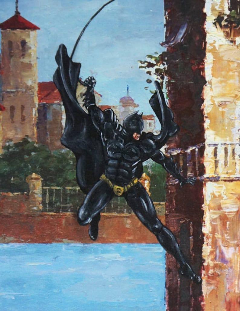 Bat in Venice. Printed on 11 x 17 in paper. image 0