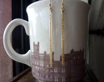 Chain Tassel Earrings