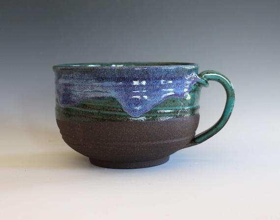 Extra Large Coffee Mug, 30 oz, handmade ceramic cup, coffee cup