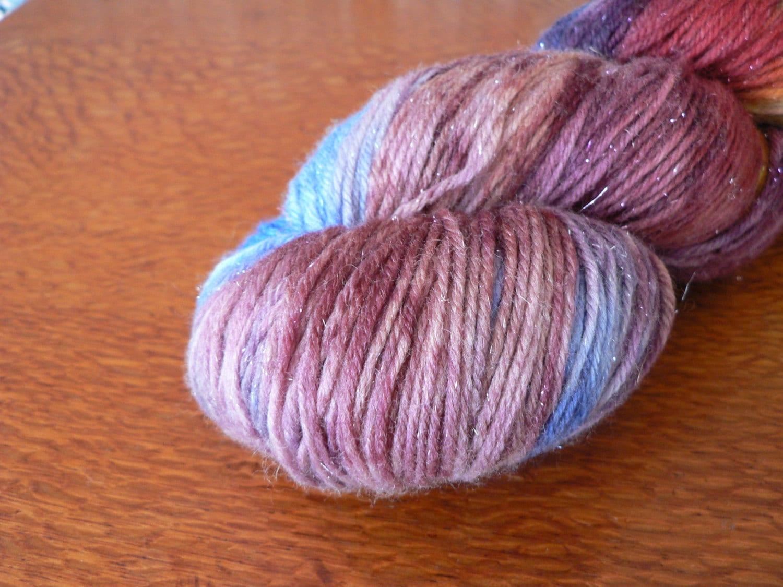100g skein Fingering Weight Day Lily 7525 Superwash Merino  Nylon Yarn