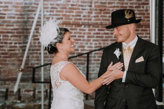 20er Jahre Kopfschmuck 20er Jahre Hochzeit Kopfstuck Braut Etsy