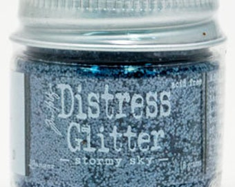 NEW** Distress Glitter- Stormy Sky