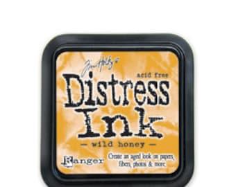 Tim Holtz Distress Ink Pad- Wild Honey