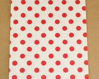 Red Polka Dot Bitty Bags