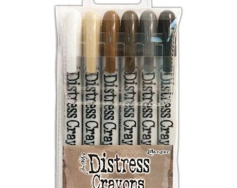 Distress Crayons- Set # 3