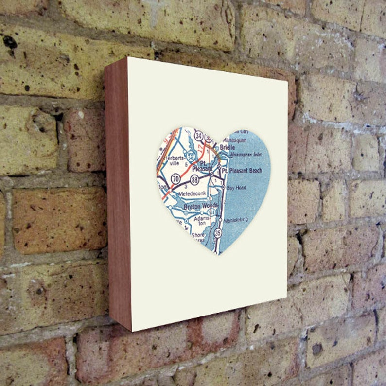 New Jersey Map Point Pleasant New Jersey Jersey Shore Art Point Pleasant NJ Jersey Shore Map