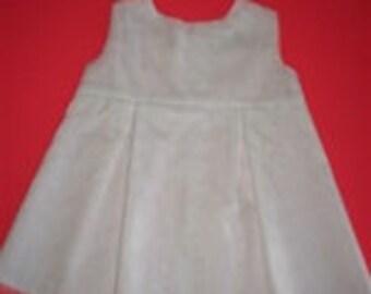 White Eyelet Embroidery Dress in Sizes 6 Mo, 9 Mo, 12 Mo