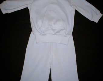 Baby Blue Unisex Sweatsuit  Size 12 Months