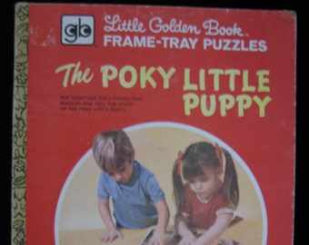 Poky Puppy Little Golden Book Puzzles ( set of 4 )