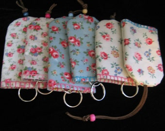 Cath Kidston key chain and holder