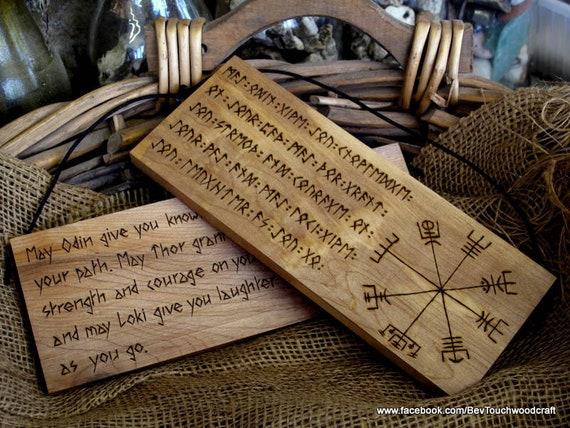 norse wall plaque odin thor loki vegvisir viking compass etsy
