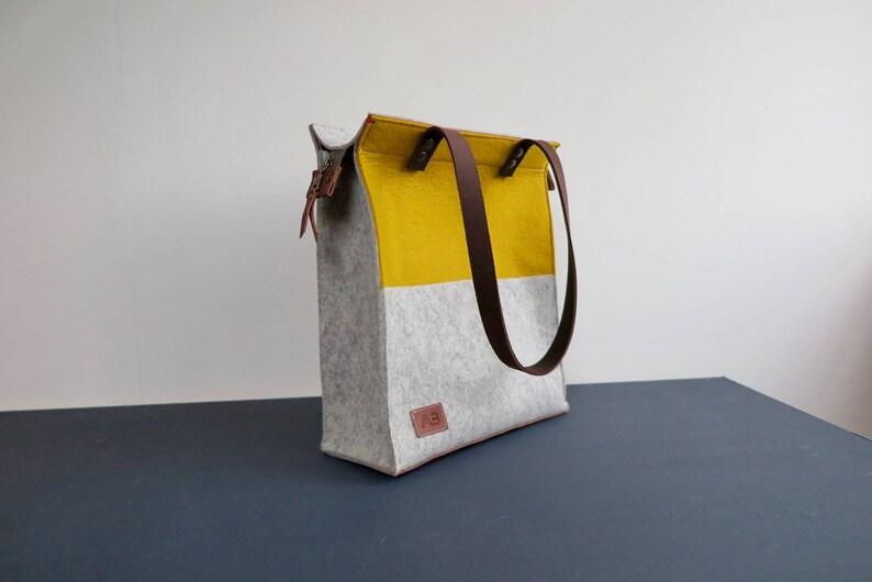 49c2ae43ad7 Vilten tas vilten schoudertas laptop tas cadeau voor haar | Etsy