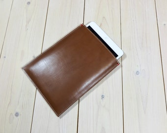 KINDLE KOBO full leather case in cognac brown - Paperwhite Voyage Glo Aura H2O  Dutch design protect in style