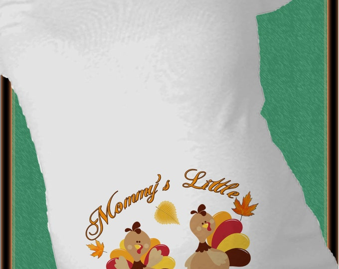 c1ee74afd39e7 USA THANKSGIViNG CUTOFF NOV 15 - Mommy's little turkeys TWiNS Maternity  Shirt Thanksgiving - Pregnancy announcement