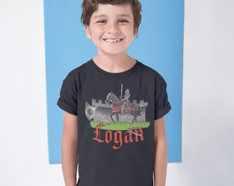 Body Armor Knight T Shirt Child Unisex The Mountain