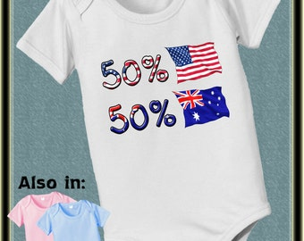 Bar Coded USA Venezuela Flag Printed Newborn Baby Boy Girl Bodysuit Long Sleeve Outfits Black