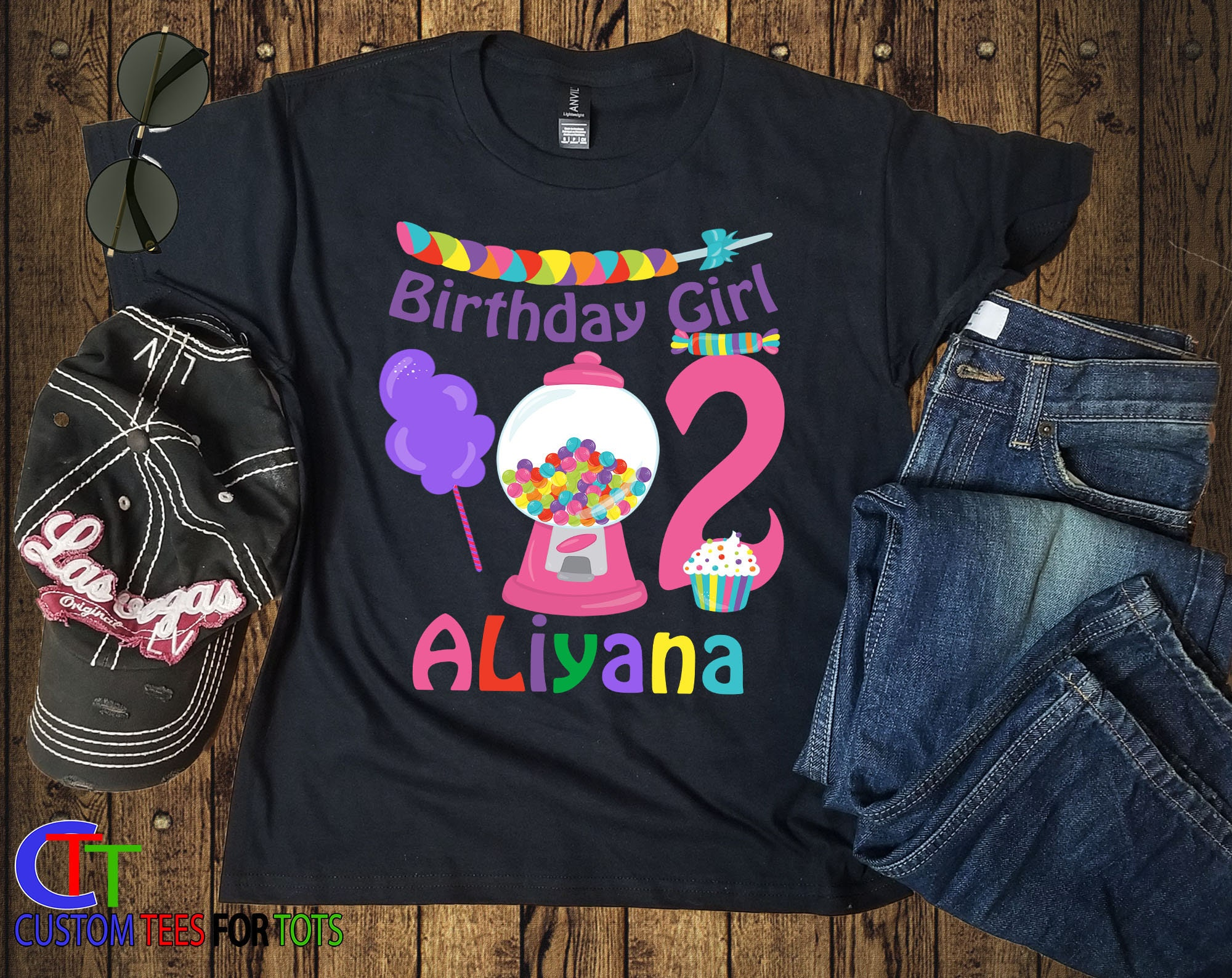bd1fa274 Candyland Birthday Shirt - Candy Birthday Shirt - Personalized ...