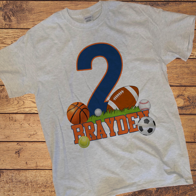 Boy Or Girl FOOTBALL Birthday Shirt