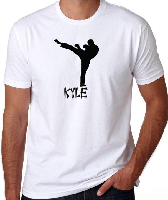 Enfant et Adulte Tailles Disponibles Taekwondo Arts Martiaux Design T Shirt