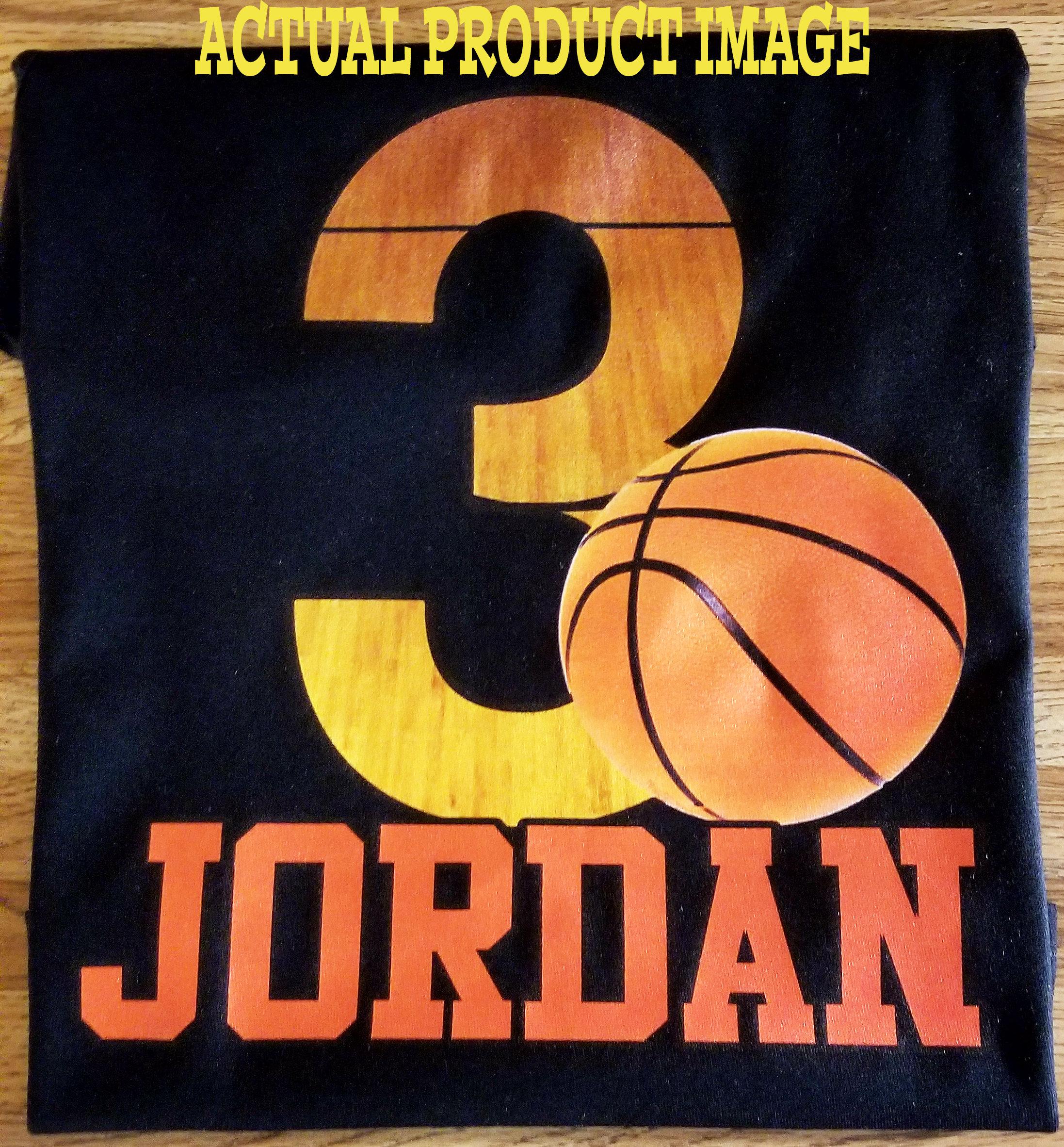 Basketball Birthday Shirt