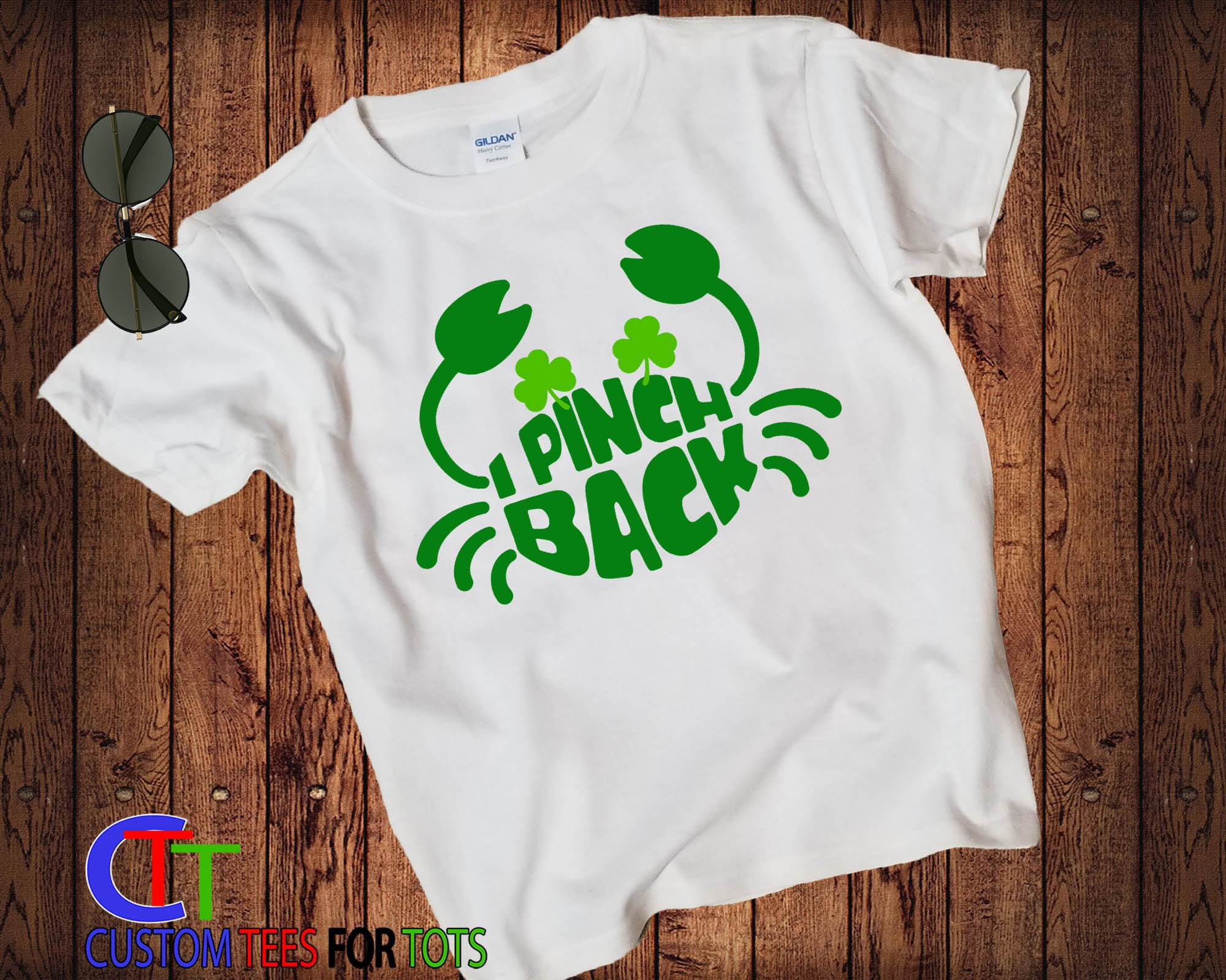 f7252724 I Pinch Back St. Patrick's Day Shirt - St Paddys day Shirt for boy or girl  ...