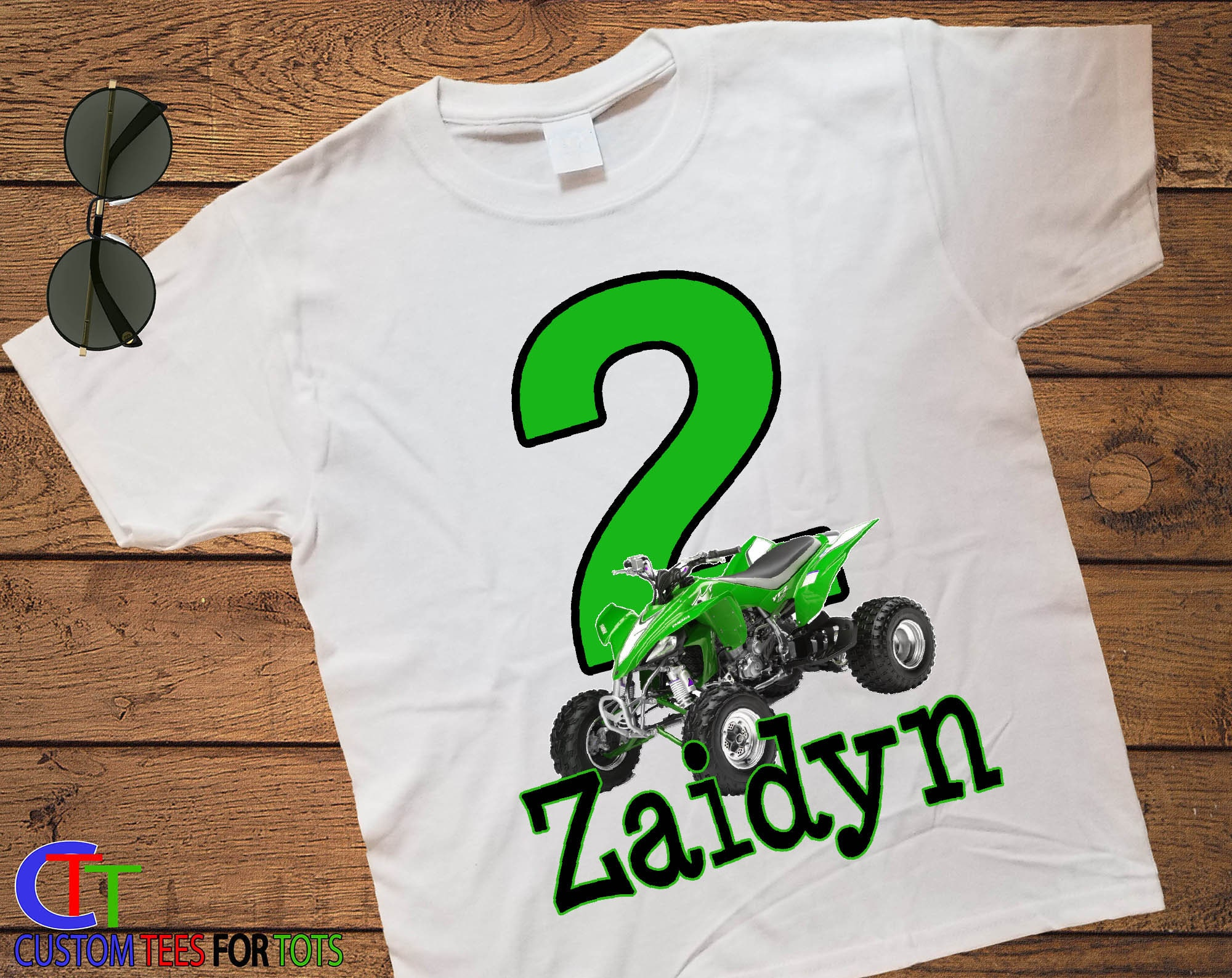 Quad Birthday Shirt For Boy