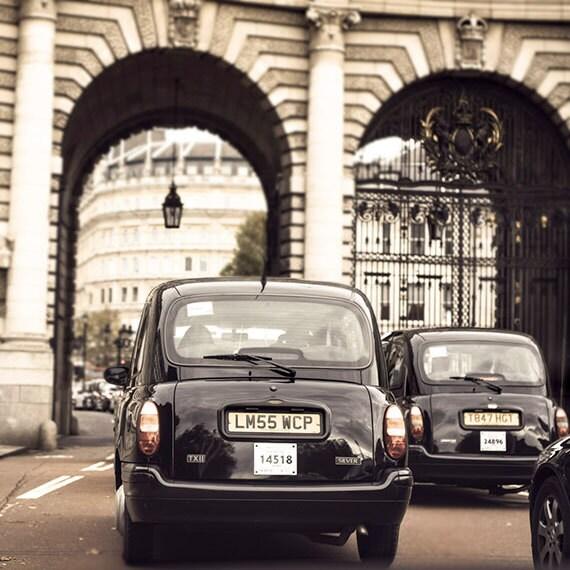 London, Fine Art photography, Travel, Black, Cream, Ivory, Mocha, Home Decor, 12x12 Print