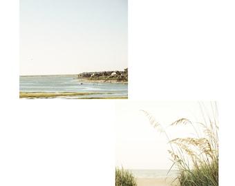 Cape Cod Photos, Two Beach Images, Coastal Decor, Cape Cod Seashore Prints