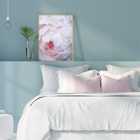Pink Peony Print,Flower Photo, Peony Petals Print, Peony Photograph,Wall Art, Pastel Print, Girls Room Photography, Botanical Photo