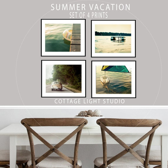 Art, Photography, Summer Set, Four Piece Set, Fine Art prints, Four Individual 11x14 Prints