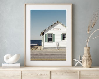 Coastal Home Wall Decor, Summer Beach Photography, Cape Cod, Seaside Cottage Photo, Seaside Print, Nautical Art