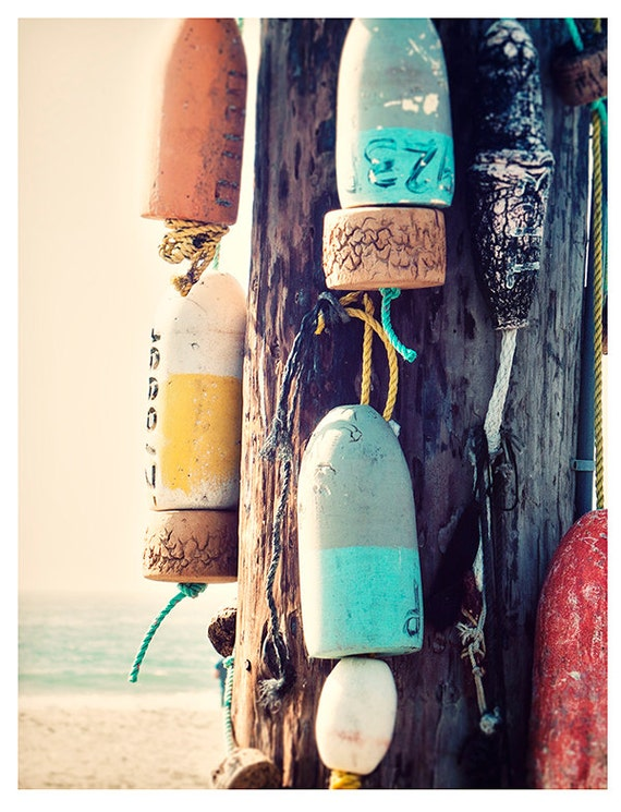 Art, Photography, Print, Coastal, Wall Art, Nature, Buoys, Ocean Print, Nautical Art, Sea, Print, Coastal Art