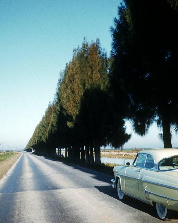 Vintage, Travel Scene, Roadtrip, Photography Print, 1960's, Kodachrome Colors, Wall Decor, Mid Century Modern, Art Print