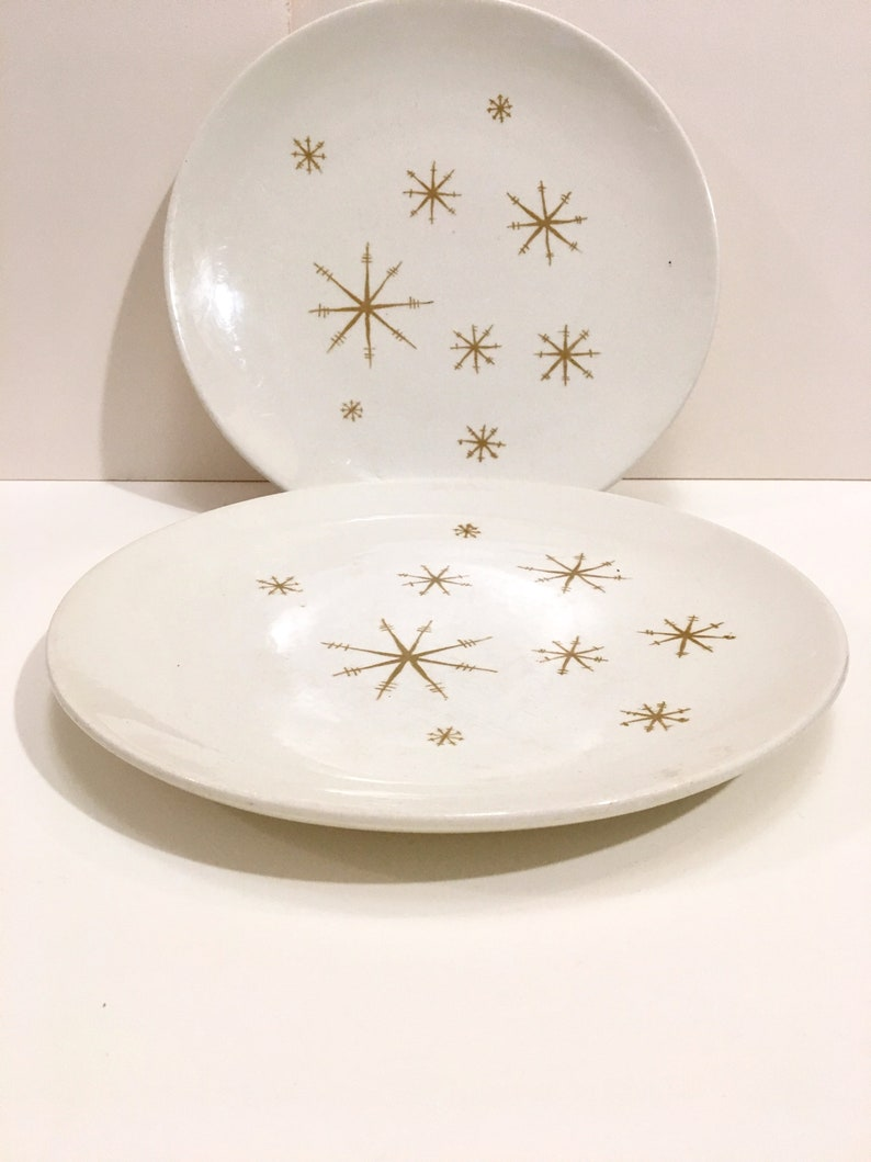 Royal China Star Glow dinner plates set of 2 image 0
