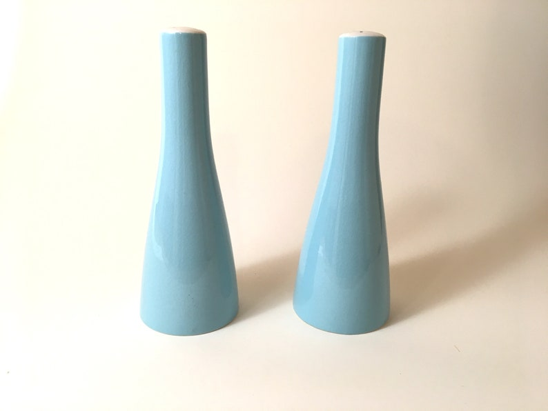 Mikasa Blue Cera Stone Salt and Pepper Shakers image 0