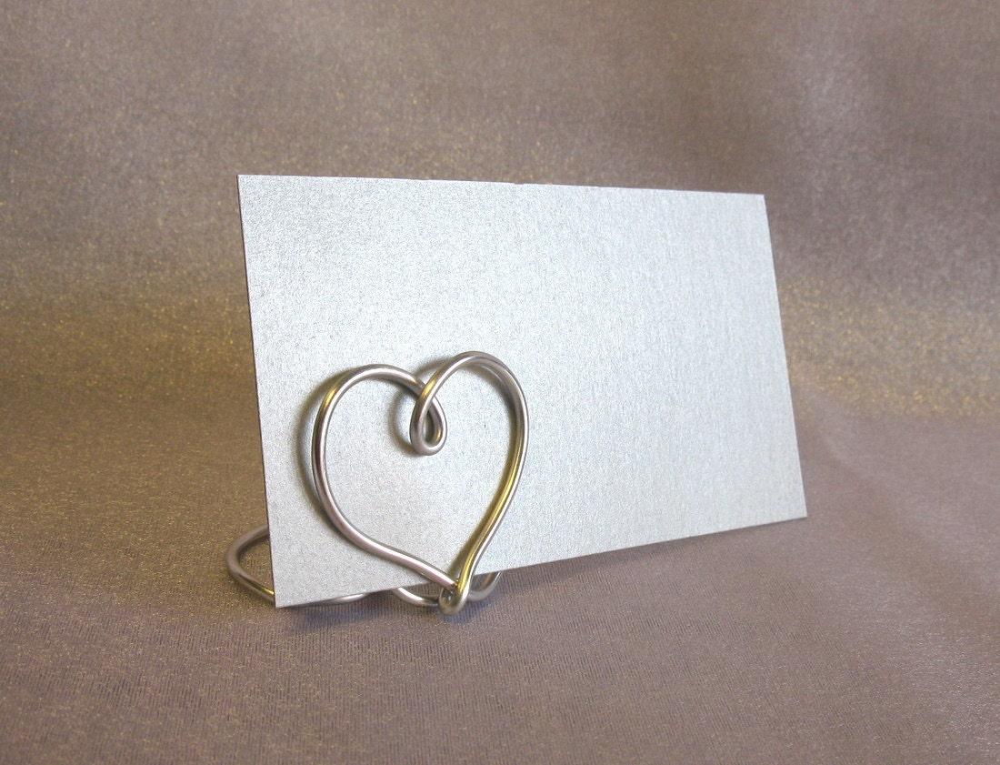 могут быть держатели для открыток из проволоки слов друзей
