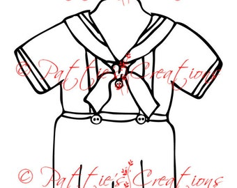 Little Boy Sailor Suit