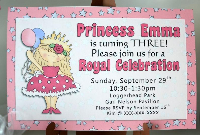 Princess Party Decorations Princess Theme 12Princess Party Favors Tags Princess Birthday Party Favor Princess Birthday Decorations