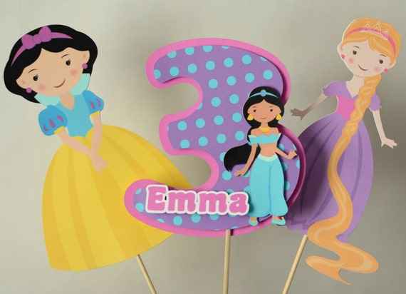 Fairy Tale Princess Birthday Party Centerpiece Decorations