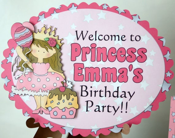 Princess Birthday Decorations Party
