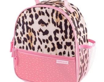 Princess Pink Hot Pink Print Canvas Lunch Bag 40k3288