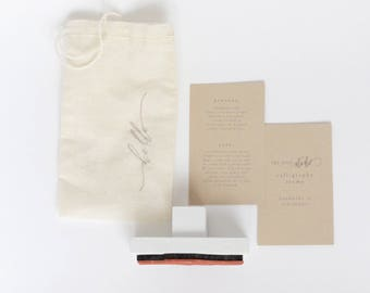 Calligraphy Stamp-Hello