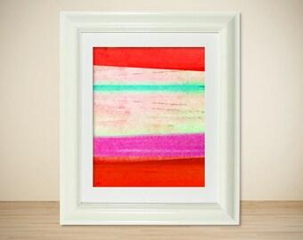 LOMO No. 11 // Modern Landscape, Abstract Print, Fine Art Poster, Colorful Art, Mixed Media, Photography, Digital Print, Giclee, Wall Art