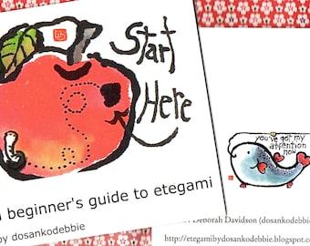A Beginner's Guide to Etegami (print or digital version)