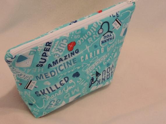 nurse organizer bag, nurse pouch, bsn gift, Medical gift, hospital worker gift, RN bag, bag, medical assistant bag, medical student gift