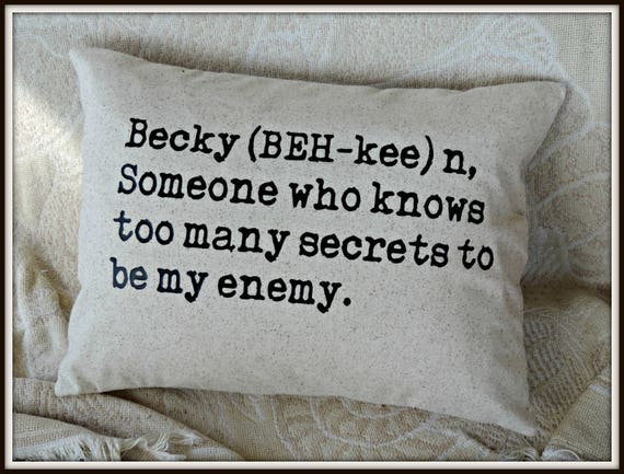 friend definition pillow, your friend pillow, best friend gift, BFF gift, typography pillow, personalized name pillow, your name pillow,