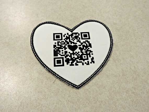 secret message, wedding patch, qr reader message, personalized tie patch, gift for groom