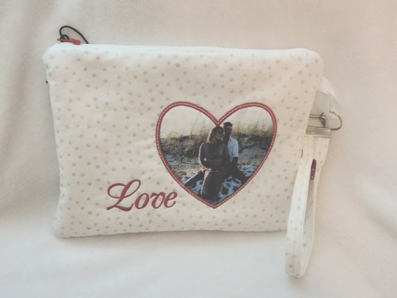 Photo clutch, picture clutch, photo bag, bridal purse, bridal clutch, bridal purse personalized, gift for bride, bridal shower gift
