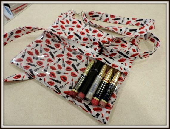 clear pocket bag, Crossbody WOW Bag LipSense Direct Sales Clear Pocket, Color Street, Essential Oils, Paparazzi, Younique, Bling Bag