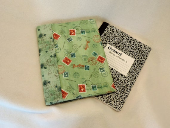 composition notebook cover, postal notebook cover, USPS gift, mail carrier gift, postal appreciation